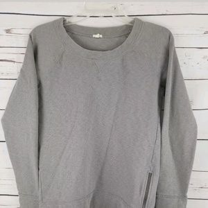 J. Crew Womens Gray Long Sleeve Pullover Medium m